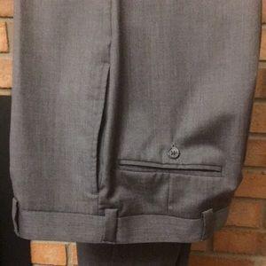 Calvin Klein men's gray dress pants